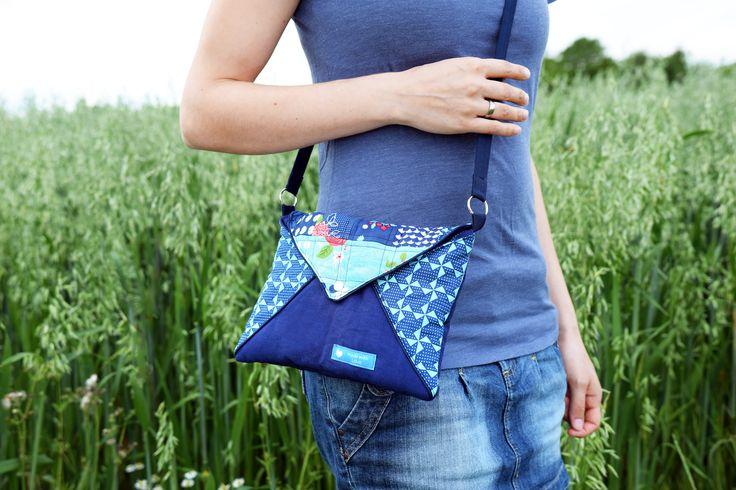 """Handtasche """"Linnea"""" genäht von Sara&Tom: http://www.kreativlaborberlin.de/schnittmuster/handtasche-linnea/"""