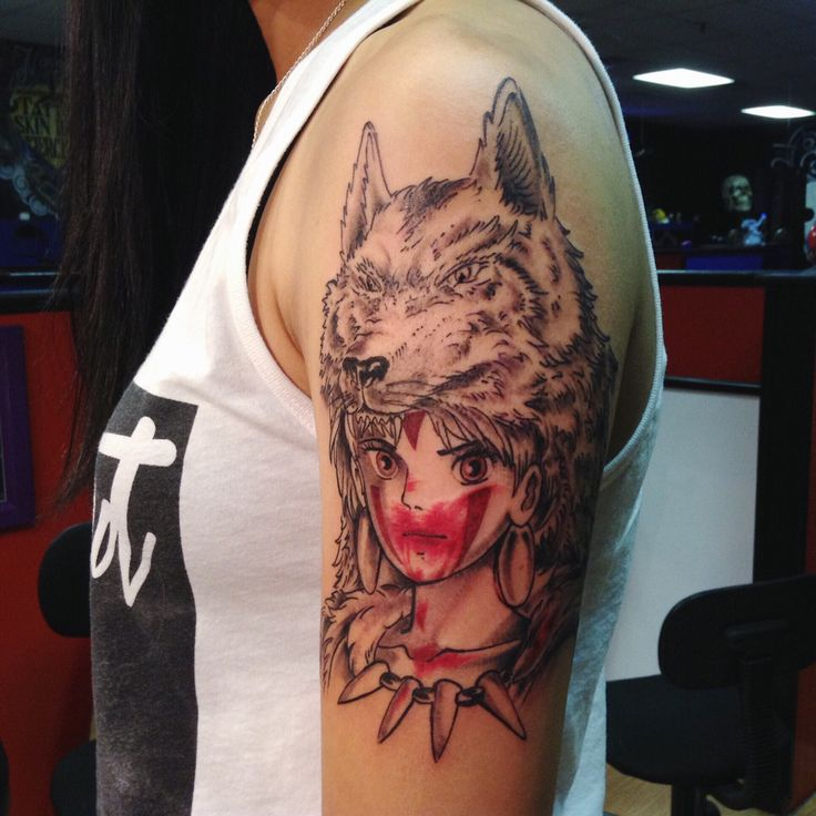 Princess Mononoke Nightwalker Tattoo | www.pixshark.com ...