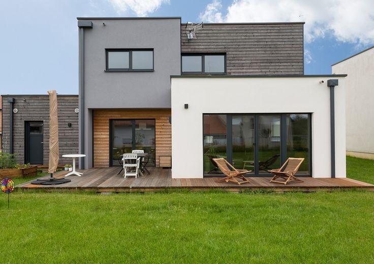 innovhabitat ralisations construction de maisons bois - Maison En Bois Moderne