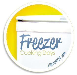 Freezer Cooking Days