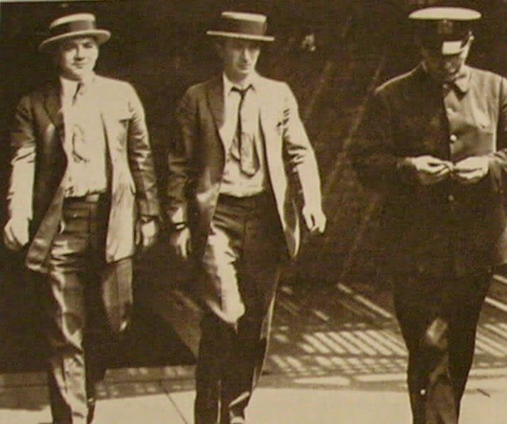 """Around 1900, the various powerful Irish gangs on the Brooklyn waterfront combined into the White Hand Gang, so named because they said they were battling the """"Black Hand dagoes."""" Indeed, from about 1900 to 1925, a grim war was waged along the New York waterfront between Irish and Italian gangsters for control of the lush rackets there. Slowly the Italian mafiosi gained, but at a tremendous loss of blood and manpower."""