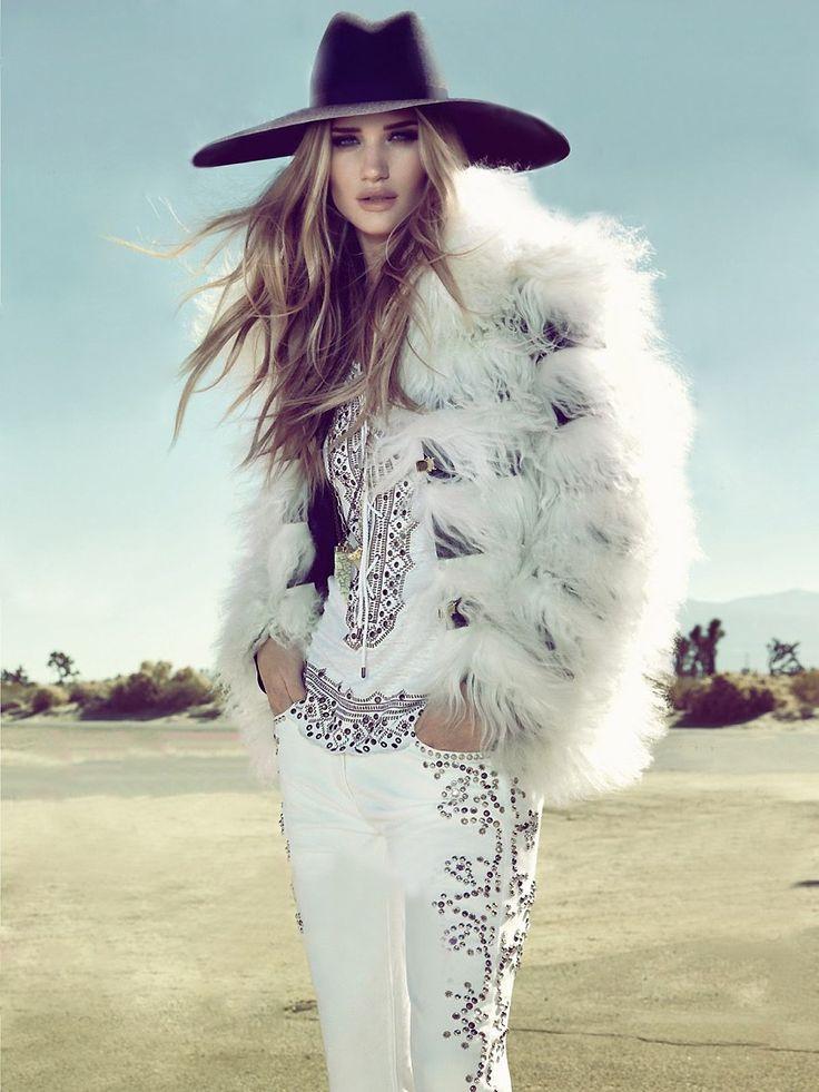 Rosie Huntington-Whitely in Vogue Brazil April 2013