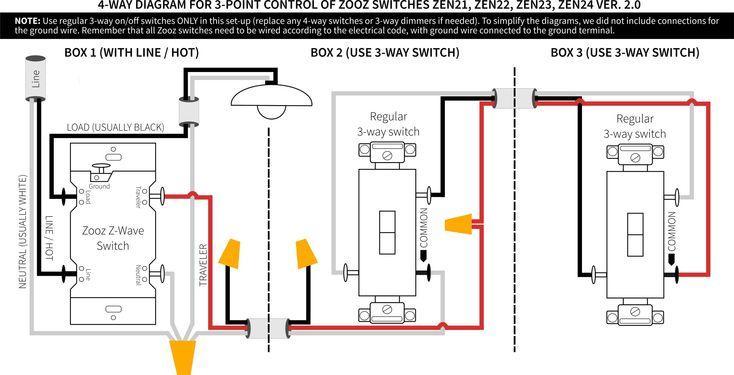 Leviton Decora 3 Way Switch Wiring, Leviton Dimmer Switch Wiring Diagram