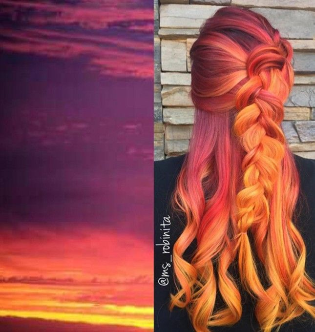 This Wild Hair Color Trend Will Make You Hate the Weather Right Now | Brit + Co