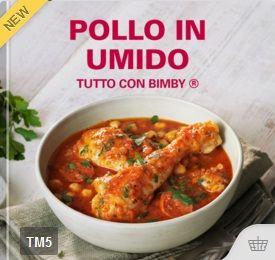 Pollo in umido – Tutto con Bimby