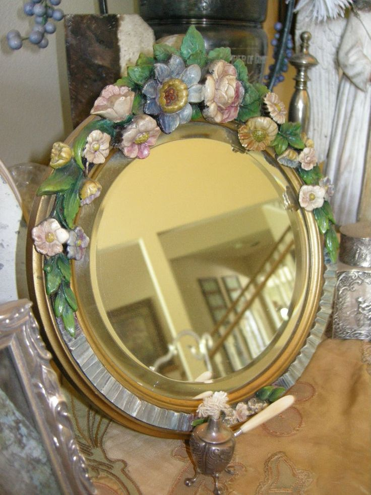 25 Best Images About Barbola Mirrors On Pinterest