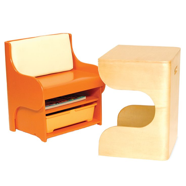kids desk and chair from uncommon goods