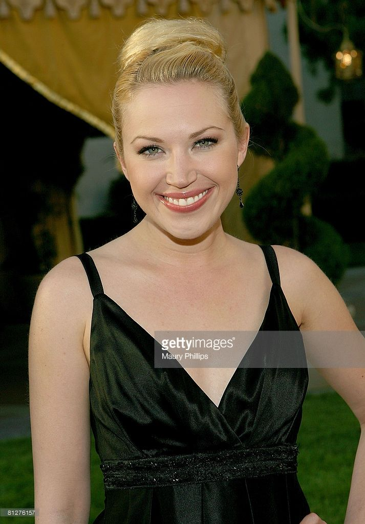 Actress Adrienne Frantz arrives at the 2008 Voice Awards on May 28, 2008 at the Paramount Theater in Hollywood, California.