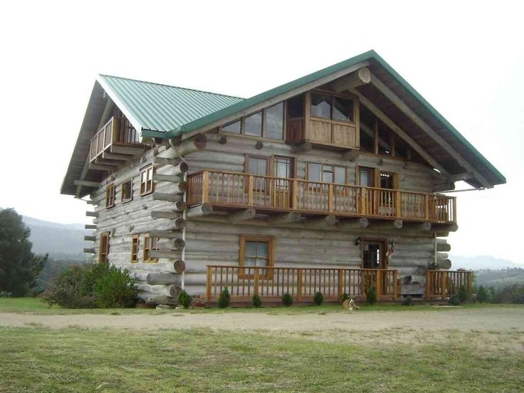Log Home Builders Association Student Built