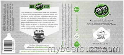 mybeerbuzz.com - Bringing Good Beers & Good People Together...: Asheville Beer Week White IPA Collaboration Brew C...