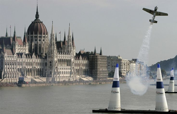 Red Bull Air Race in Budapest