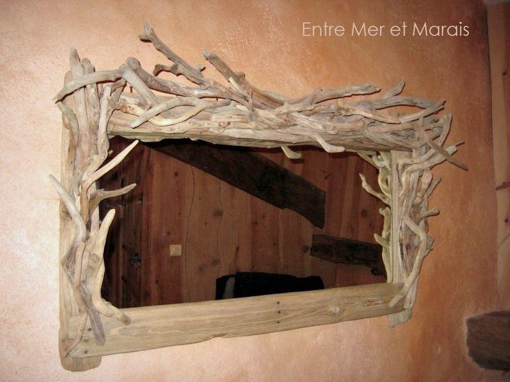 Miroirs - Entre Mer et Marais ~ Créations en bois flotté