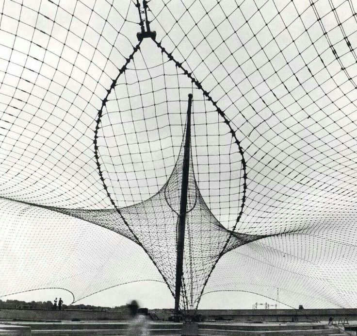 Frei Otto #tentconstruction #freiotto #architecture