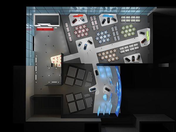 Set design for Citroen Picasso Commercial LaunchVillepinte | ParisRealisation | Laurent DufayDirection artistique | Frédéric RobinAgency | Villadalesia&Co