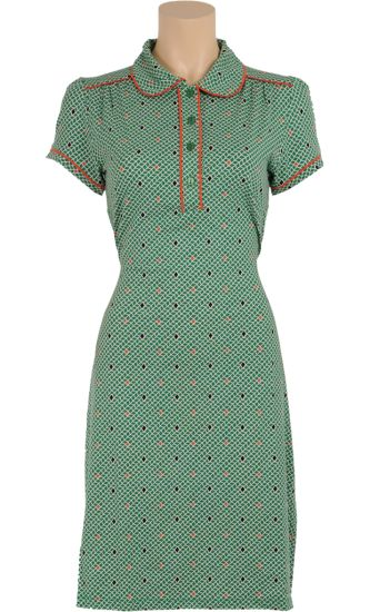 € 84,95 Polo dress Treasure  ♡ Vintage Inspired Summer | #Print | King Louie SS 2015 ♡