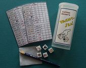 """Disney Cruise Inspired """"Captain Mickey's Yacht-Sea!"""" Yahtzee Game ~ Upcycled! ~ Perfect Fish Extender Cabin Gift! - pinned by pin4etsy.com"""