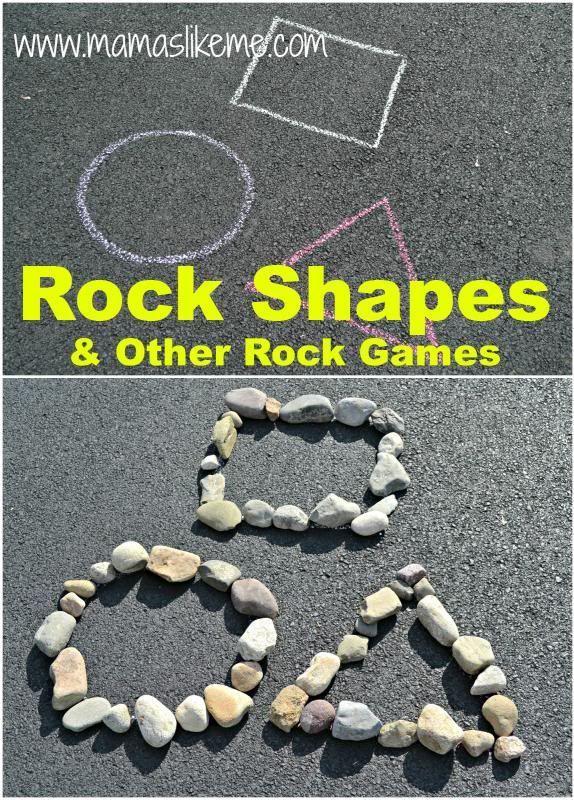 Mamas Like Me: Rock Shapes & Other Shape Games