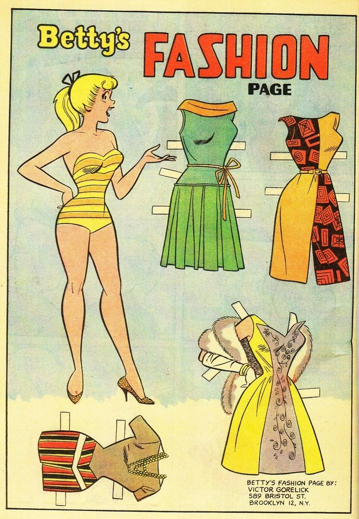 The Paper Collector: Betty and Veronica, 1961