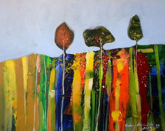 Trio 20x16 by Andrzej Gudanski on ArtClick.ie  Landscape Art