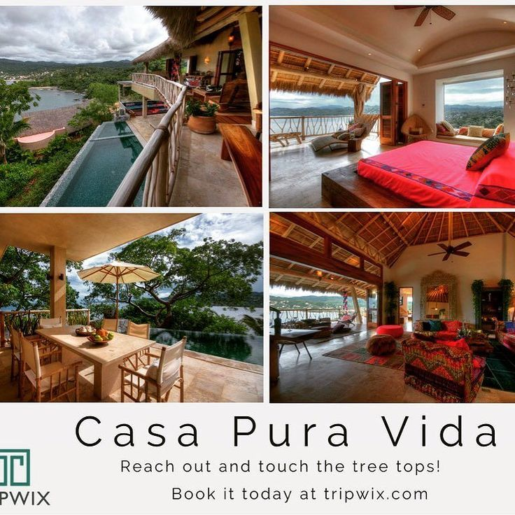 Casa Pura Vida in #Sayulita is a gorgeous custom home which combines a fabulous chic lifestyle with breathtaking views and all the creature comforts.