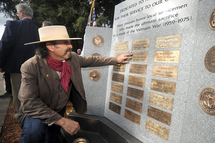 The sun had set on Veterans Day this year but that didn't keep a crowd of those wishing to honor Placerville area men killed in Vietnam from gathering the following day for the dedication of a marble monument at the corner of Bedford Avenue and Main Street. Sunday provided a beautiful...  #mountaindemocrat #News #A1, #Featured, #Printed