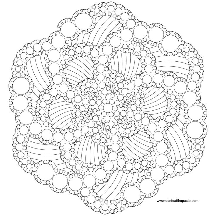 dotted mandala to color also available as a jpg coloring lots of mandala colouring