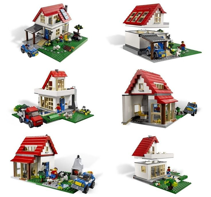 lego creator hillside house instructions