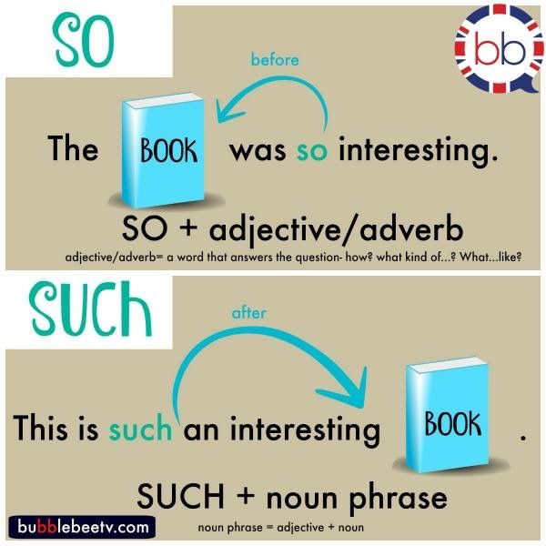 So vs Such