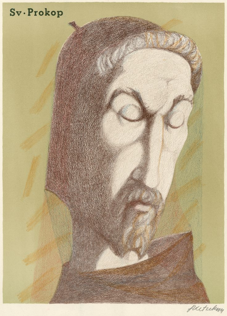 Svatý Prokop (Saint Procopius of Sázava)