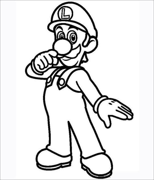 Mario Coloring Pages Free Coloring Pages Super Mario Coloring Pages Mario Coloring Pages Super Mario And Luigi