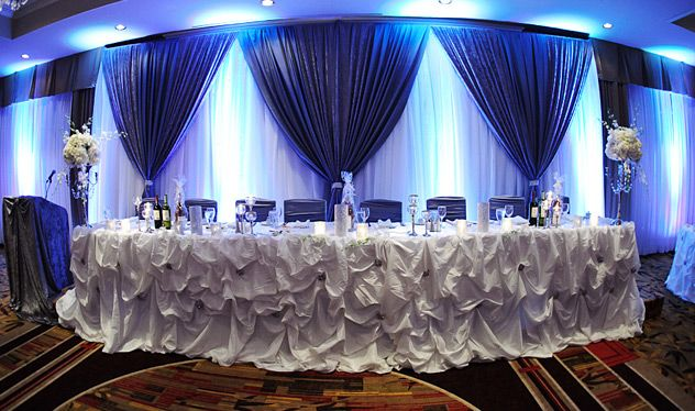 royal blue wedding decoration ideas blue and white wedding decorations beautyful wedding 7158