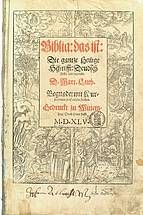 Luther-Bibel 1545