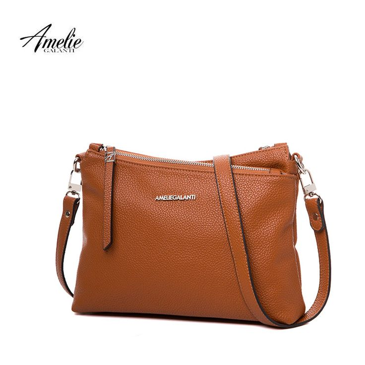 Casual Zippered Flap Crossbody Soft Purse //Price: $35.95 & FREE Shipping //     #me