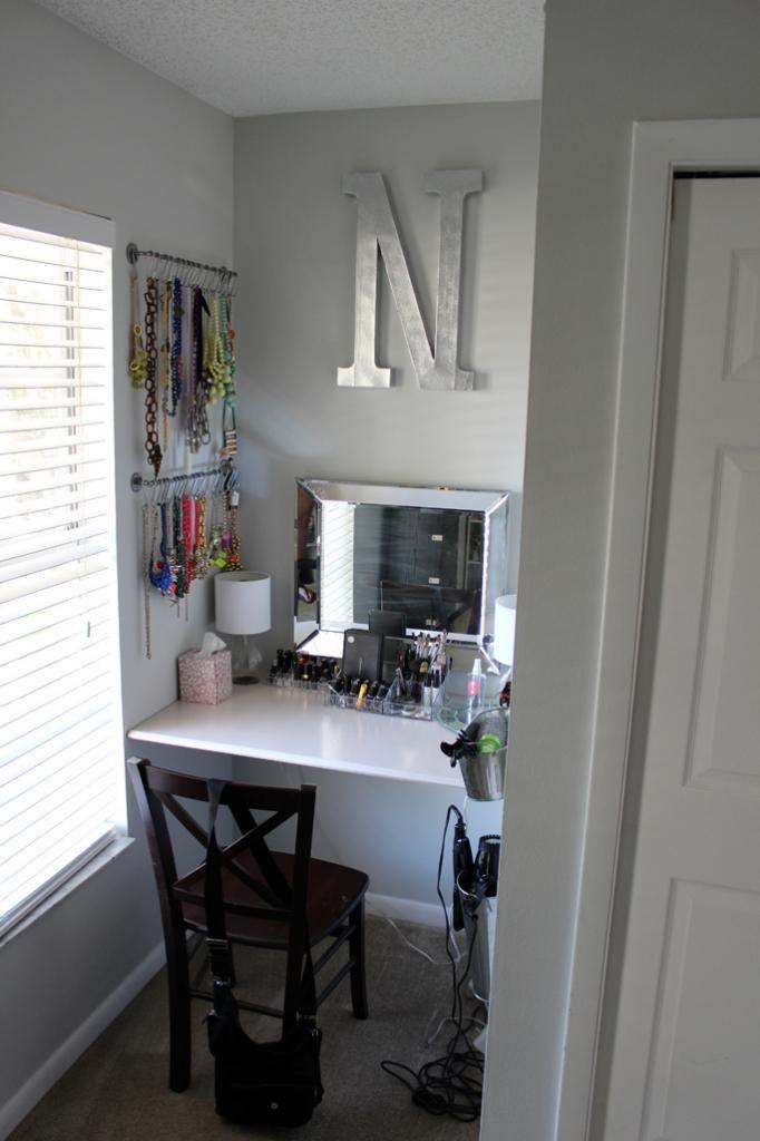 Southern Colonial - DIY Vanity desk