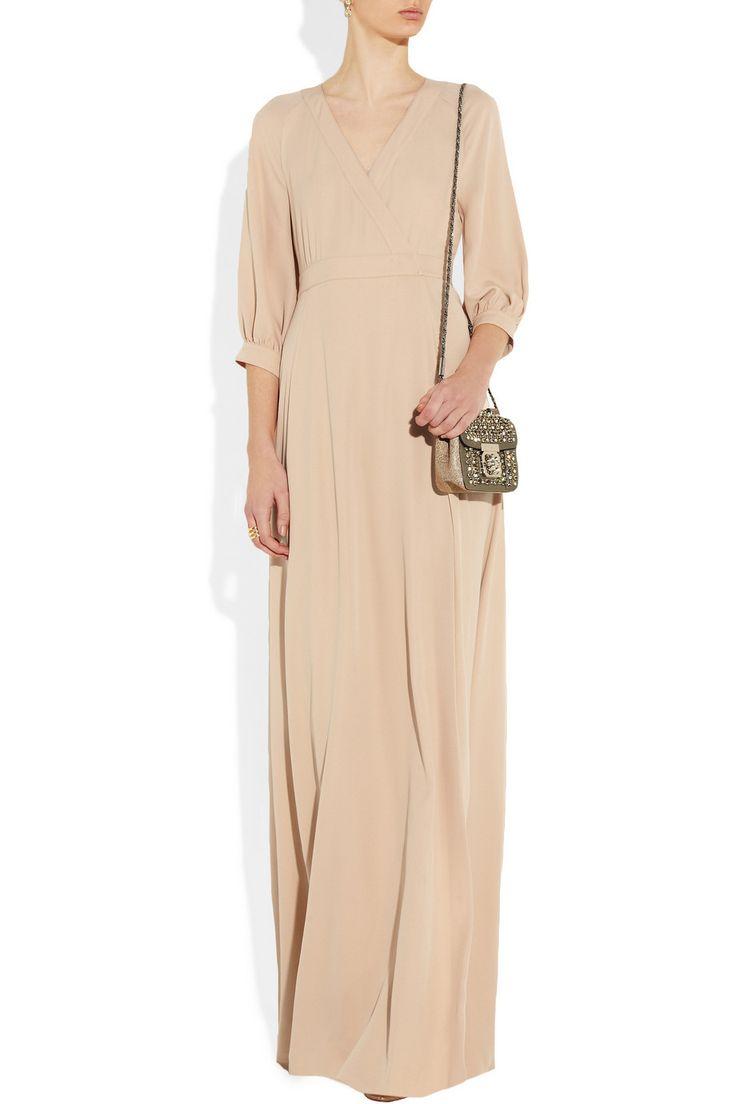ValentinoSilk-twill gownoutfit $1,650