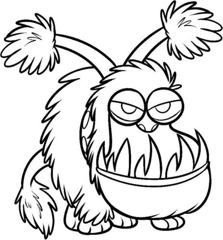 Find This Pin And More On Minions Kyle Despicable Me Coloring Page
