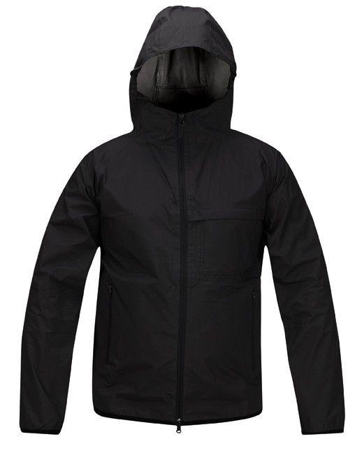 Propper Packable Rain Jacket   Black