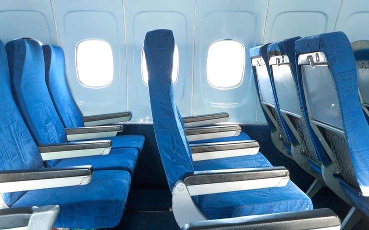 Por assentos do avião não se alinham com janelas