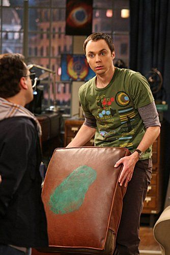 Still of Johnny Galecki and Jim Parsons in The Big Bang Theory