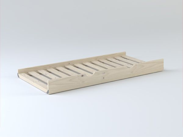 Ya no habrá monstruos debajo de la cama. Solo estará el accesorio que convierte una cama en dos. El LUFE Arrastre nido es ligero, de estructura compacta y fácil de arrastrar. Y queda oculto tras el bonito panel frontal. ¿Quién dijo miedo? #MueblesLUFE #madera #accesorios #DIY #ecologico #accesorio #CamaNido