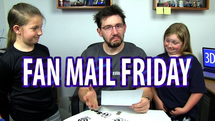 #VR #VRGames #Drone #Gaming Fan Mail Friday 007 - Bring Your Daughter To Work Edition #3D, 3d idea builder, 3d print, 3d printed, 3d printed items, 3d printer, 3d printing, 3d printing best, 3dp, 3DPrint, 3DPrinted, 3dprinter, 3Dprinting, bender bank, benderbank, best 3d printing, best 3d prints, bring your daughter to work, consumer 3d printing, correspondance, dremel, dremel 3d printer, Drone Videos, fan mail, fan mail friday, fanmail, fanmail friday, Friday, letter, PLA,