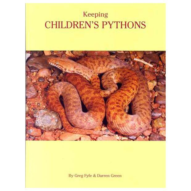 Keeping Children's Pythons (Aust)