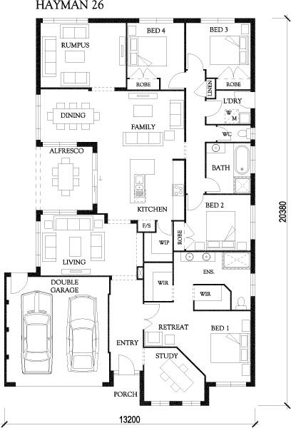 Hayman eden brae homes floor plans pinterest home for Eden brae home designs