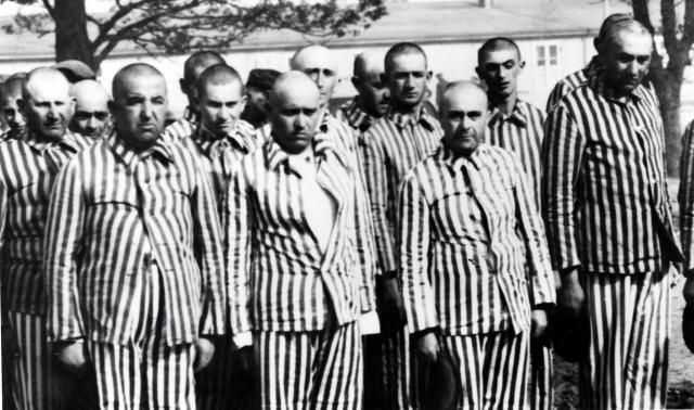 33 Facts You Should Know About the Holocaust: Men selected for forced labour from amongst the Hungarian Jews in Auschwitz-Birkenau, 1944