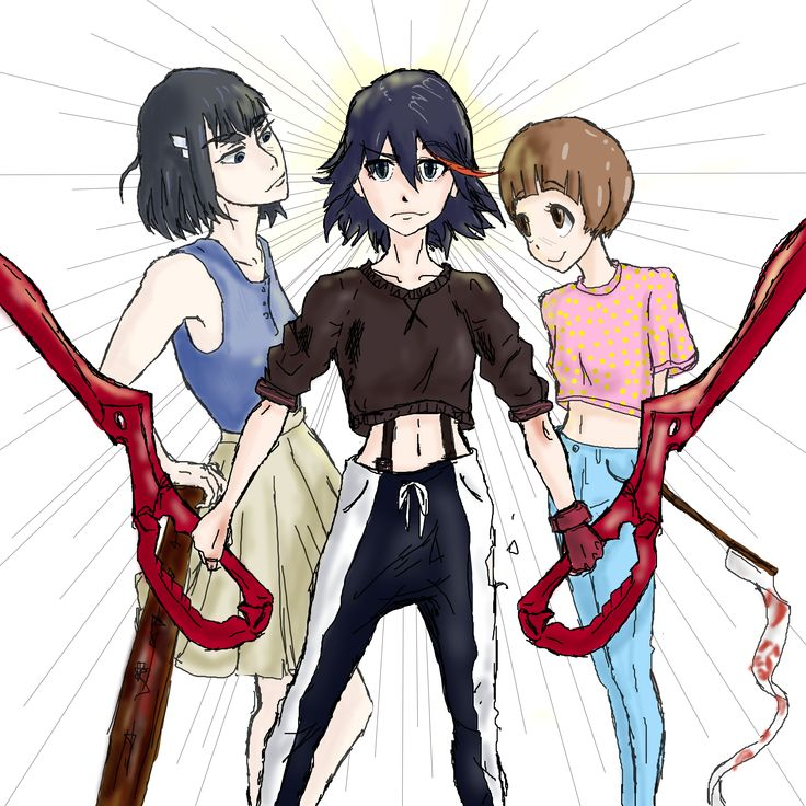 Digital fan art #killlakill #ryukomatoi #mako