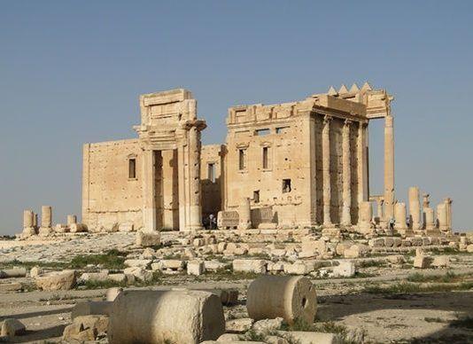 Le temple de Bel, à Palmyre, avant sa destruction par le groupe État islamique.