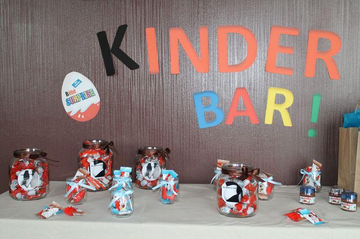 Un kinder Bar pour une future maman très gourmande!