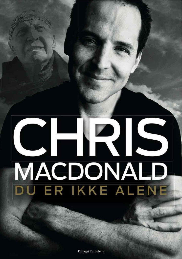 Du er ikke alene / you are not alone.  Chris MacDonald
