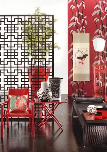 648 best images about chinese interiors on pinterest for Decoration orientale