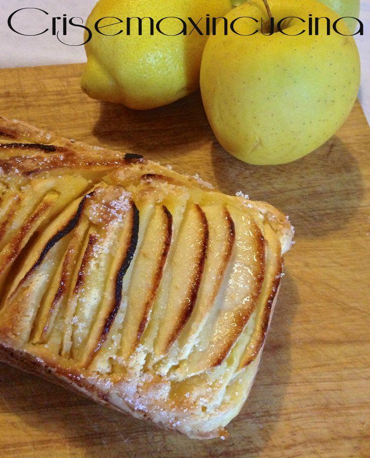 Plum cake ricotta e mele, ricetta senza burro